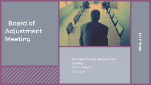 Board of Adjustment Meeting