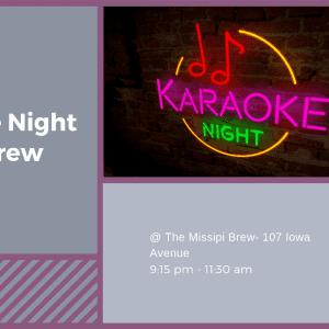 Karaoke Night @ the Brew