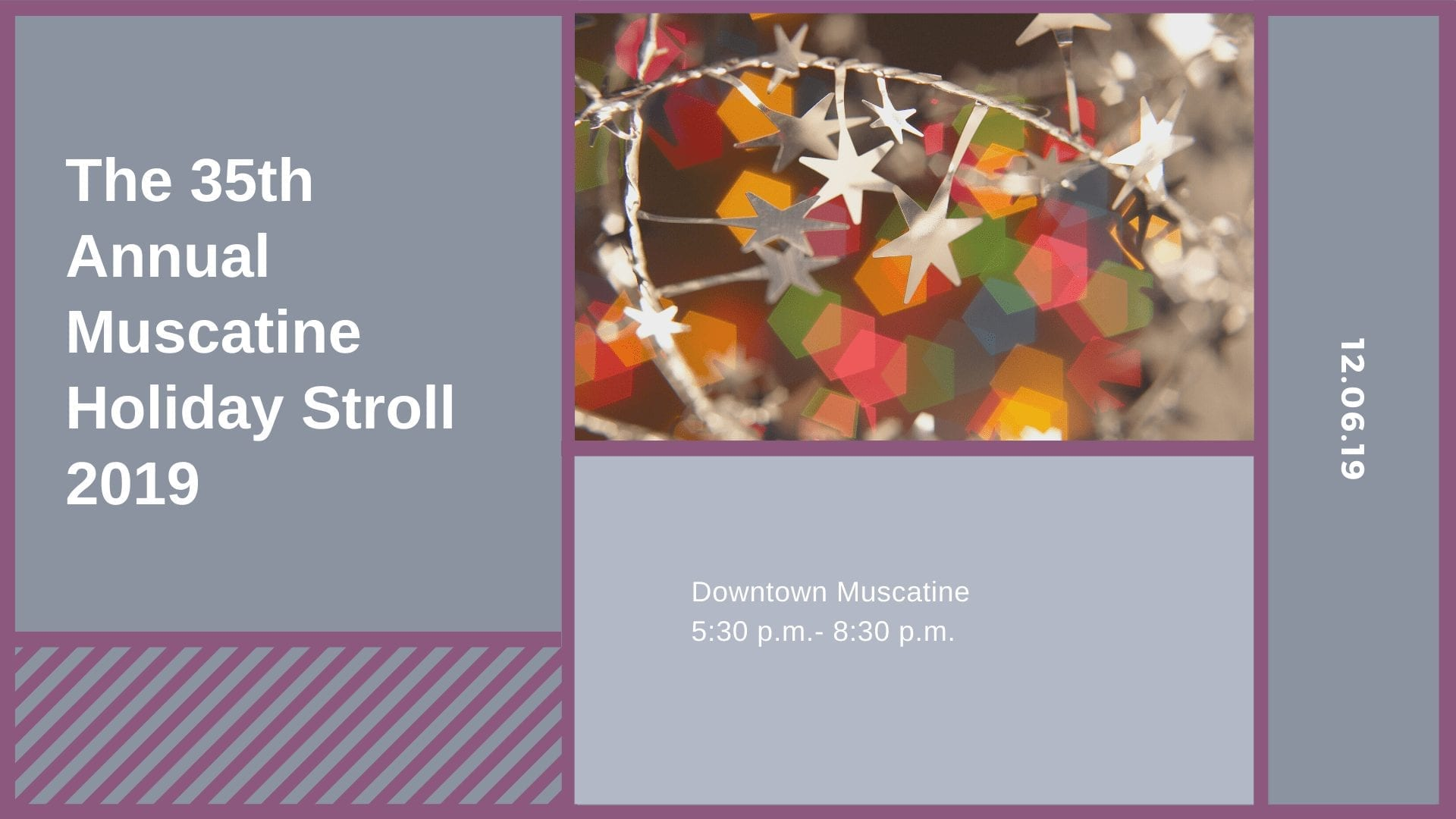 The 35th Annual Muscatine Holiday Stroll 2019