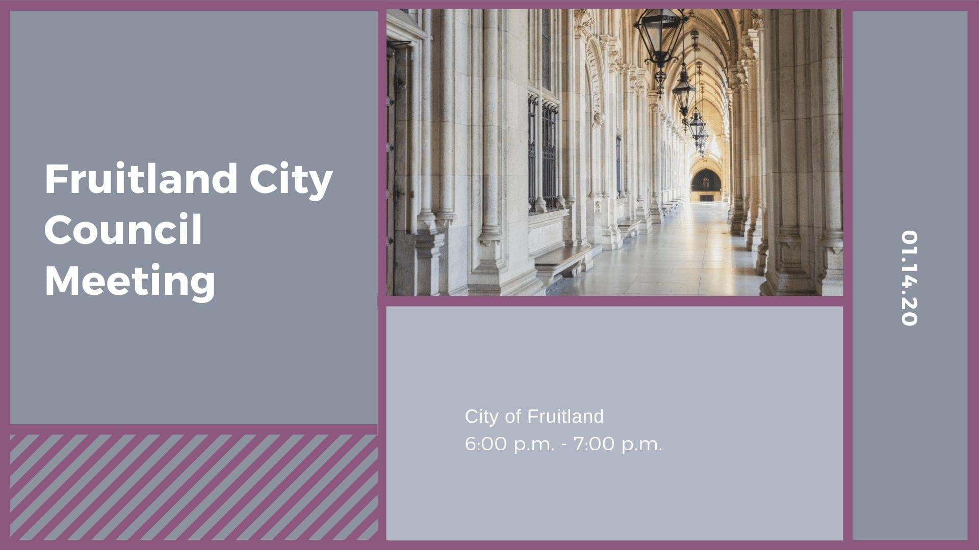 Fruitland City Council Meeting