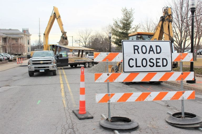 Detour in effect for Roundabout Construction Project