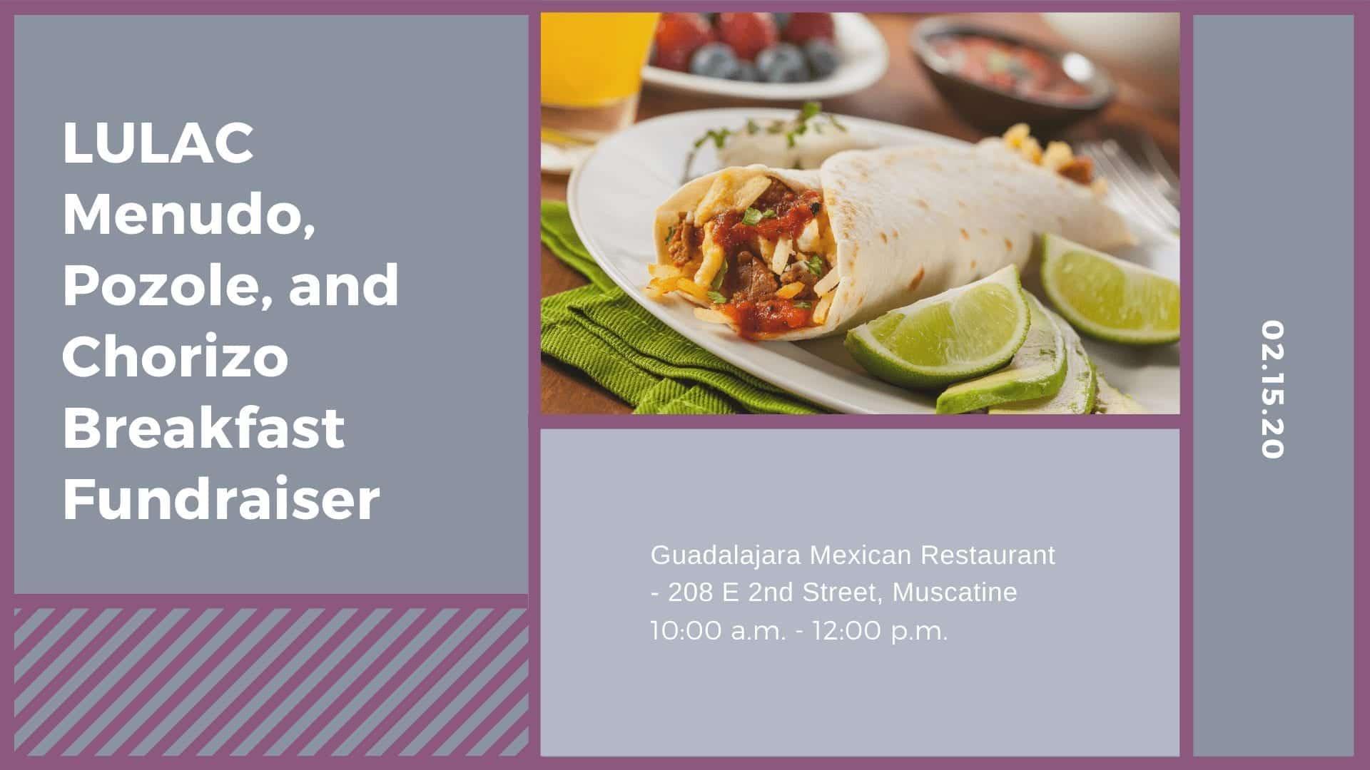 LULAC Menudo, Pozole, and Chorizo Breakfast Fundraiser