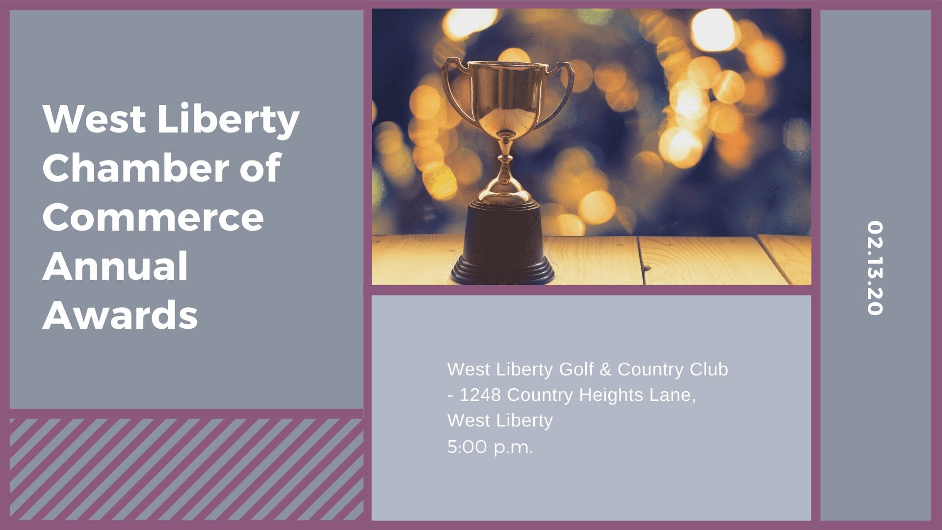 West Liberty Chamber of Commerce Annual Awards