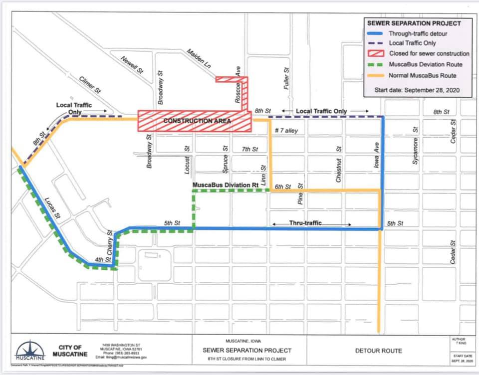 092820 Yellow Route Detour Map (JPG)
